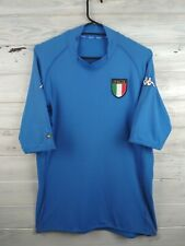 Italia Italy soccer jersey 2XL 2002 2002 home shirt football Kappa