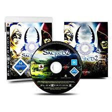 PS3 - PlayStation 3 Spiel SACRED 2 - FALLEN ANGEL in OVP mit Anleitung