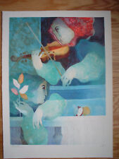 ALVAR Original Lithograph w/ Embossing - Pencil Signed & Numbered
