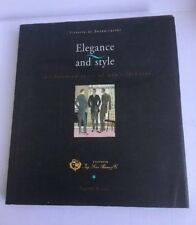 Elegance and Style Two Hundred Years of Men's Fashions by Vittoria Buzzaccarini
