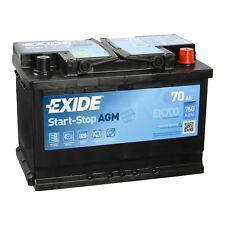 Exide EK700 AGM Autobatterie 12V 70Ah EN760A START-STOP STARTERBATTERIE PKW