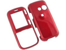 Red Snap On Hard Plastic Protector Phone Case Cover For LG Rumor2 LX265