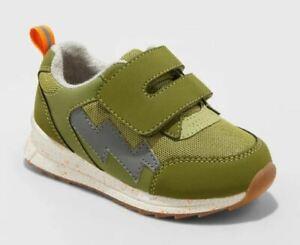 Toddler Boys' Jet Sneakers Olive - Cat & Jack™ - CHOOSE SIZE