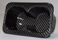 Mitsubishi Lancer Evolution / Evo X Rear Seat Cup Holder - Carbon Fiber
