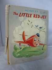 The Little Red Jet by Herbert - Illustrated by Fask HB - A Dinky Book