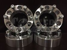 "Wheel Spacers 1.5"" Fit Isuzu Rodeo Aluminum Set of 4 Adapter 6x5.5 6 Lug Pickups"