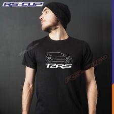 T-shirt T2RS TWINGO RS noir blanc pour homme inspiration Renault Sport 1988