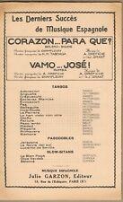 CORAZON...PARA QUE? Boléro Biguine et VAMOS...JOSÉ! Rumba Musique OREFICHE ~1950
