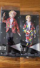 Mattel Boy Doll BTS Lot of 2 NIB Jin and V Bagtan Boys New Sealed