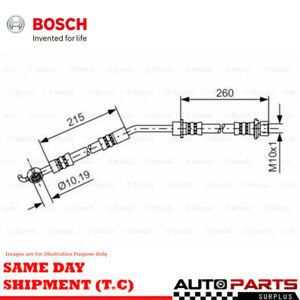 Bosch Brake Hose Front Right for Toyota Yaris 1.3 (NCP130R), 1.3 (NCP90R