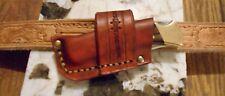 Buck 110/112 Handmade Leather Crossdraw Sheath No Knife