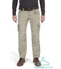 TIMEZONE Jeans Uomo Cargo Pant Benito 6200 DARK EARTH Cintura Nuovo Clubwear