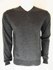 Pulls Homme Versace Collection, Gris ,Taille M ,laine ,col V