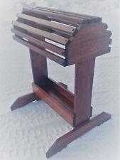 New Handmade Mahogany Saddle Stand Rack W/tray with Finish