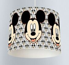 Mickey Mouse (022) Boys Bedroom Drum Lampshade Light Shade