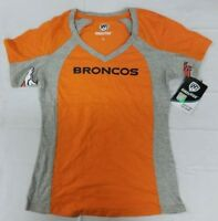 Hands High NFL Denver Broncos Women's Sideline Tee, Orange
