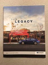 2019 SUBARU LEGACY 24-page Original Sales Brochure