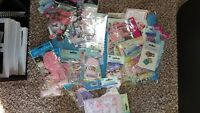 sei CHOCOLAT GLITTER Die-Cuts scrapbooking TAGS Corners TABS Accents