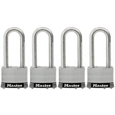 Master Lock 2 in. Laminated Stainless Steel Keyed Padlock with 2-1/2 in. Shackle