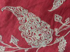Bouree, Coral Garden- linnen Fabric 42 Yards