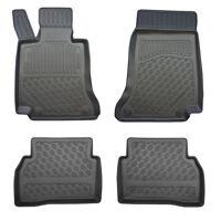Fußraumschalen statt Gummimatte für Mercedes C W205 S205 Limousine Kombi 2014-