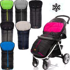 FILLIKID Winterfußsack ECO BIG Fußsack für Kinderwagen Jogger Buggy Kinder Baby
