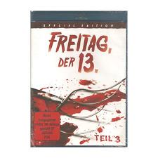 Blu Ray FREITAG DER 13. - Teil 3 TOTAL UNCUT FSK 18 NEU & OVP Special Edition