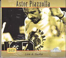 2 CD ♫ Audio Box Set ASTOR PIAZZOLLA ~ LIVE & STUDIO nuovo