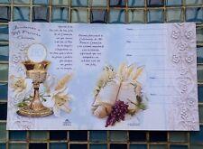 20 first communion invitation/invitaciones para primera comunión ,