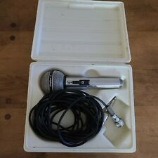 Shure Brothers Microphone PE-585 High Impedance Dynamic Vintage Mic Unisphere A