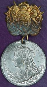 UK Medal Victoria Diamond Jubilee 1837 - 1897 Kilmarnock EF With Luster