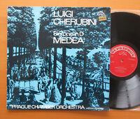 Supraphon 1 10 0568 Cherubini Sinfonia in D Medea Prague Chamber Orchestra NM