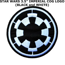 STAR WARS Galactic Empire Imperial Iron/Sew-On Applique Patch US Seller