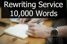 Content Rewriting Service - 10,000 Words of Article or Book Text