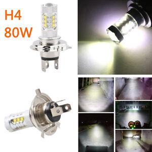 1x H4 Motorcycle COB LED Headlight  Front Light Bulb Lamp White 6000K