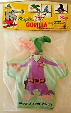 60s Ideal Toy Droop-A-Long Coyote Hand Puppet MIP Hanna Barbera  Magilla Gorilla