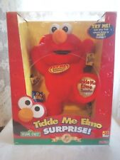 NEW~ Fisher Price Sesame Street Tickle Me Elmo Surprise: 5th Anniversary Edition