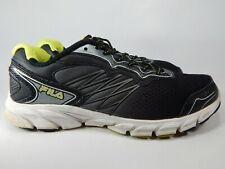 Fila Indus Cool Max Size 11 M (D) EU 45 Men's Running Shoes Black 1SR20883-409