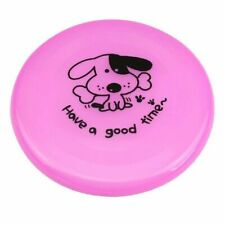 Plastic Dog Flying Discs Frisbee Tooth Resistant Outdoor Large Dog Training Toy