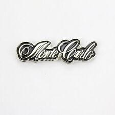 Chevy Chevrolet Monte Carlo Schriftzug USA Button Hat Pin Anstecker Anstecknadel