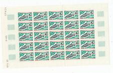 16 - CHAD - SCOTT #218-221 FISH SET, FULL SHEETS OF 25! Mint, NH