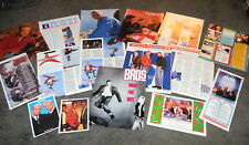 BROS MATT LUKE GOSS Magazine Clippings Pin-Ups Lot + Large Fold-Out Poster