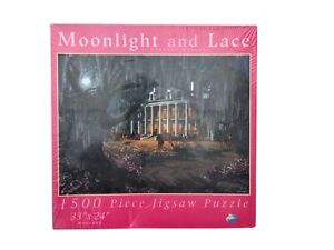 SunsOut Moonlight & Lace 1500 pc. Puzzleby Roberta Wesley  NEW