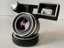 Leica Leitz 35mm f/2 Summicron-M Chrome Lens w/Goggles 8 Elements 1st Version M3
