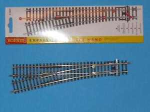 NEW HORNBY R8077 LEFT HAND EXPRESS POINT R 8077 in PACKET FREE POST