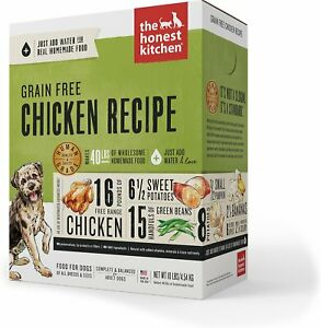 The Honest Kitchen Grain Free Dehydrated Dog Food  -CHOOSE FLAVOR- Free Shipping