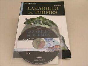 ANONIMO Cideb 2005 LAZARILLO de TORMES Nivel Segundo LEER y Ap Book+CD Cover Flx