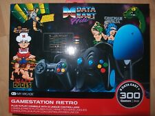 My Arcade Gamestation Retro Plug & Play Console 300+ Games W/ Data East Hits NEW
