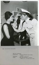SHARON HUGUENY DEAN JONES PORTRAIT ENSIGN O'TOOLE ORIGINAL 1963 NBC TV PHOTO