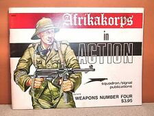 Squadron Signal Afrikakorps In Action Weapons # 4